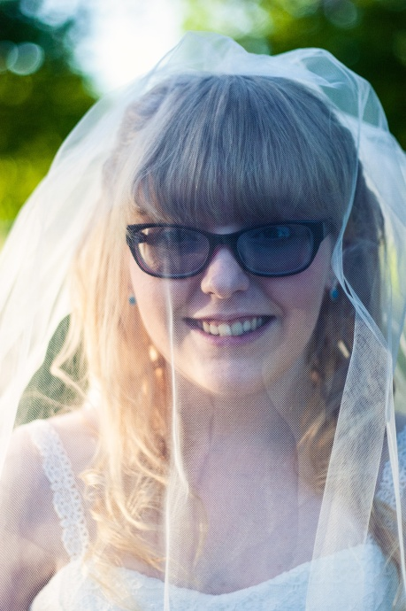 Portrait of the lovely bride from a Skiatook wedding.