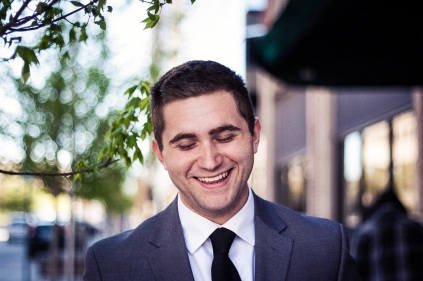 The groom. From an Oklahoma City wedding.