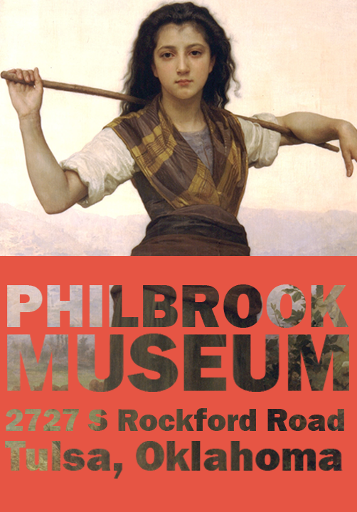 I made an unofficial poster for the Philbrook as a design exercise.